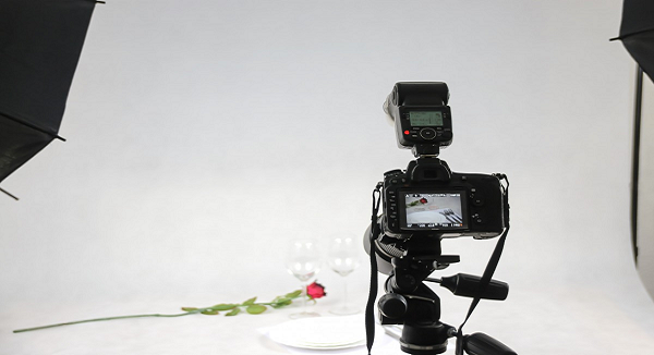 white product photography